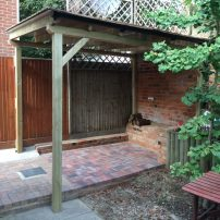 Covered pergola - Abingdon