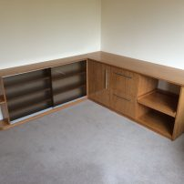 Oak home office - Steventon