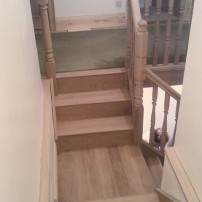 Oak stair, Southmoor