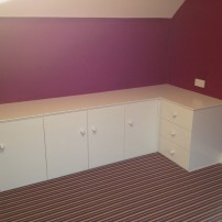 Wardrobe & drawer set, Sutton Courtenay