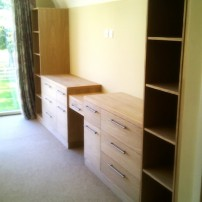 Oak cupboard unit, Sutton Courtenay