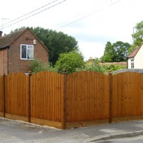 Abingdon Carpenter: Fencing , Sutton Courtenay
