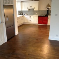 Engineered oak floor Marsh Gibbon