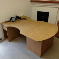 Double office desk Watlington