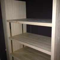Oak bookcase Steventon